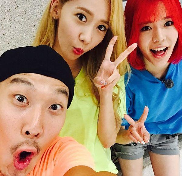 Haha & Yoona & Sunny Selfies from Running Man > SPECIAL