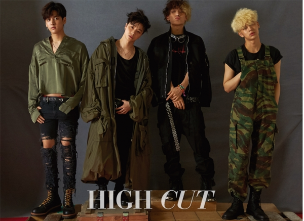 iKon members are full of 'swag' in their recent High Cut